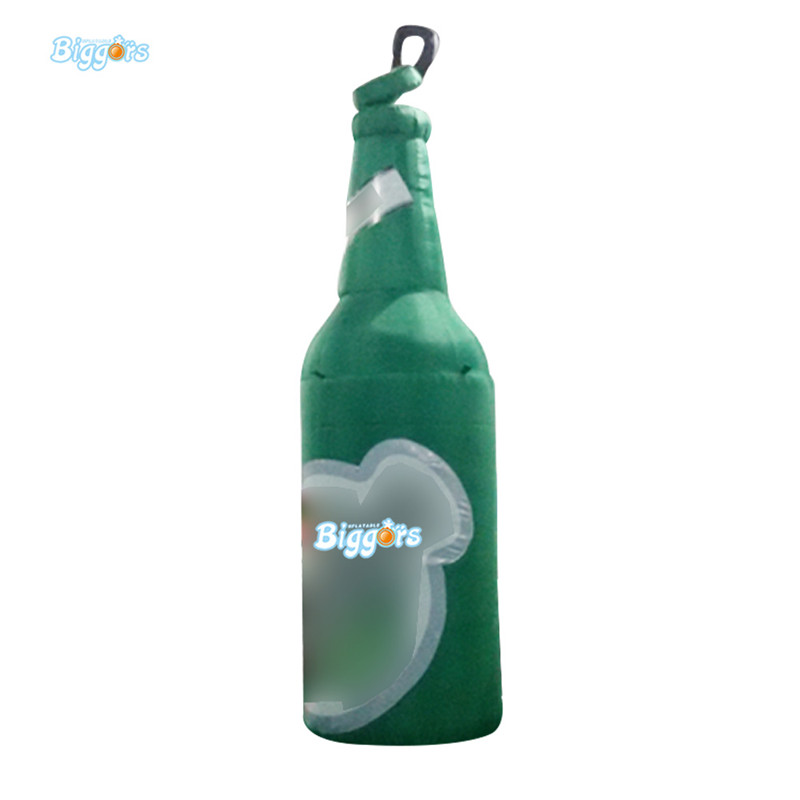 Hot sale giant inflatable beer bottle for advertising hot sale 1000ml roland mimaki mutoh textile pigment ink in bottle color lc for sale
