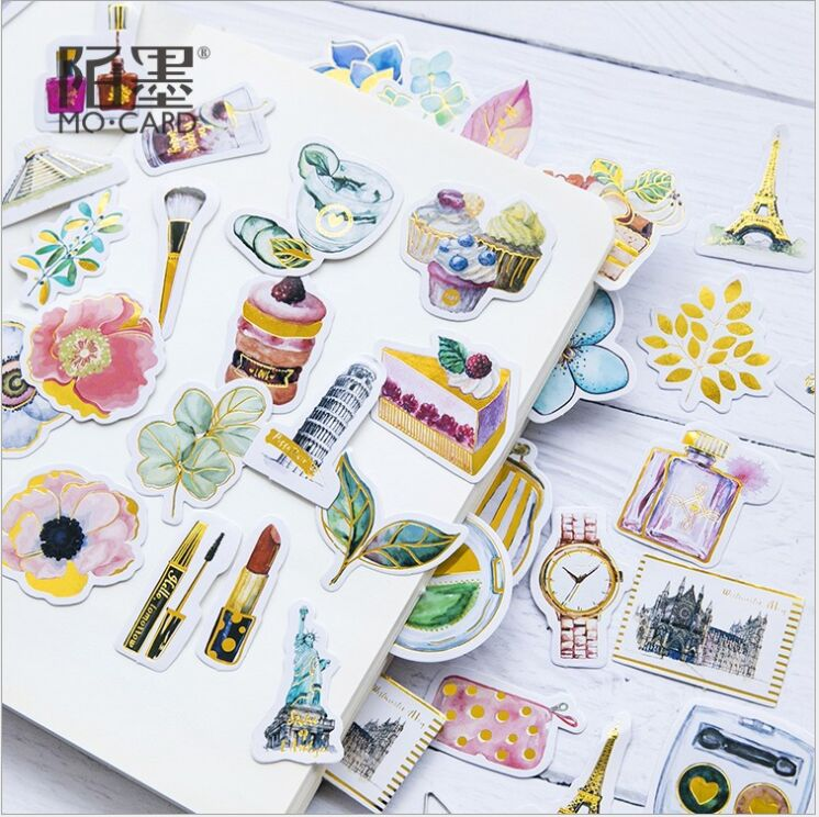 Notebooks & Writing Pads 6pcs Lovely Dress Up Girl Pvc Stickers Diy Diary Scrapbook Notebook Album Cup Phone Decor Sticker Stationery School Supplies Vivid And Great In Style