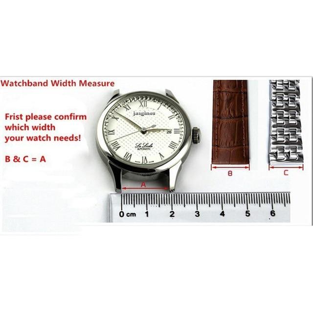 Watch accessories sweat-absorbent silicone strap for Panerai 1950 series PAM00616 00682 waterproof rubber 24mm men's watch belt 5