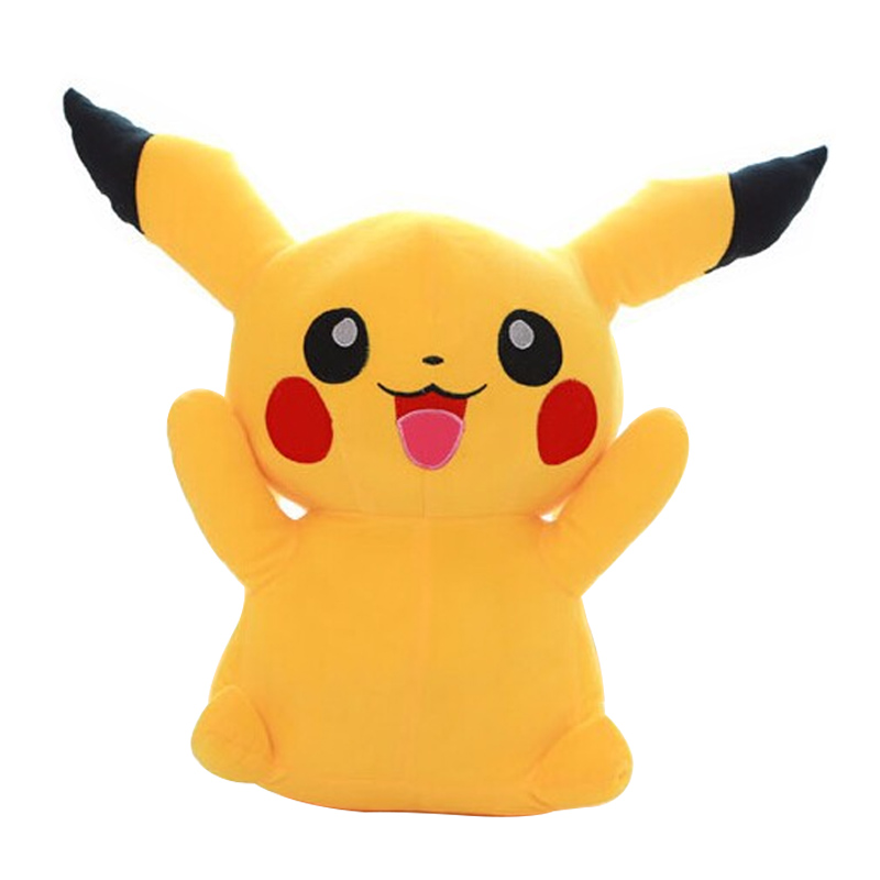 1pcs 16 40cm Pikachu Plush Toys High Quality Very Cute Stuffed Animal Dolls Children Toys Movie Tv kids Christmas Gift hot cute pikachu plush toys 22cm high quality plush toys children s gift toy kids cartoon peluche pikachu plush dolls for baby