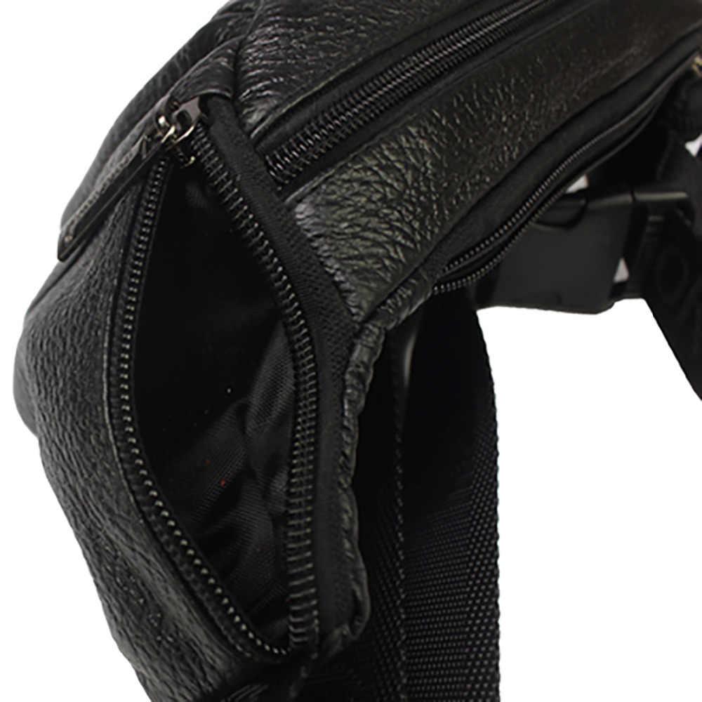 Первый слой воловьей кожи поясная сумка для мужчин Хип бум Чехол для мобильного телефона поясная сумка сумки для путешествий Мужской винтажный тренд натуральная кожа поясная сумка
