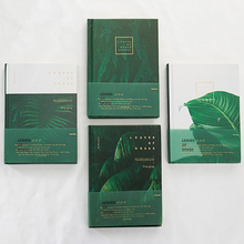 """""""Grass Leaves"""" Hard Cover Diary Beautiful Notebook Journal Notepad Free Note Stationery Gift"""