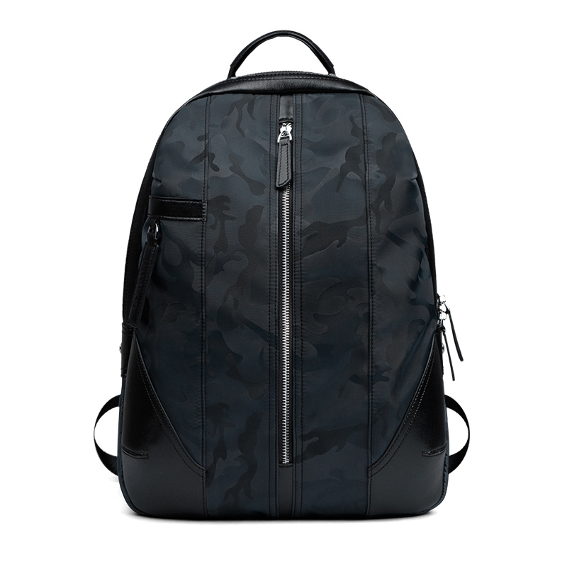 The new high-quality men's waterproof nylon shoulder bag leisure travel bag large-capacity backpack school bags