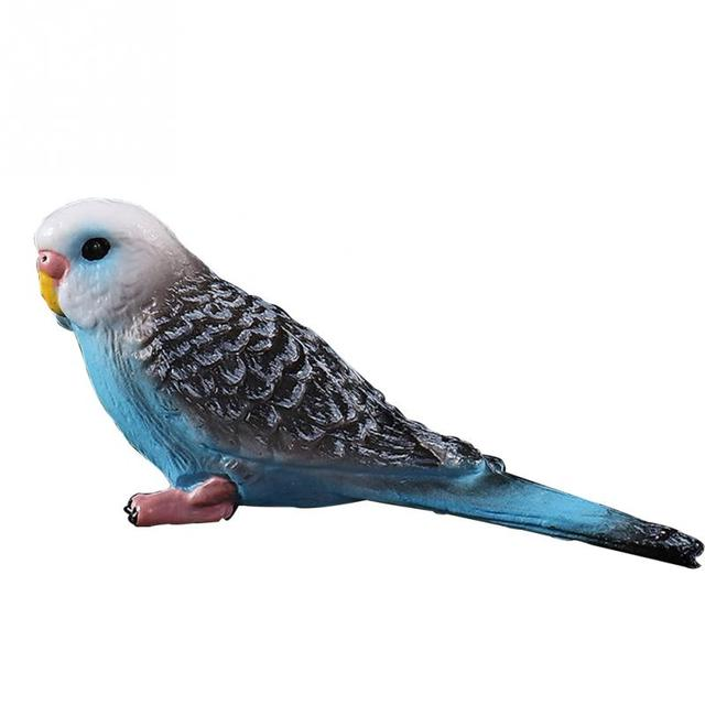 Colorful Mini Parrot Garden Figurine