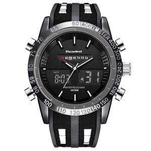 Image 2 - Marque de luxe montres hommes sport montres LED étanche numérique Quartz hommes militaire montre bracelet horloge mâle Relogio Masculino 2019