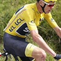 2017 New Tour De France Champion Honor Cycling Jersey And Bib Shorts Racing Bike Cloth MTB