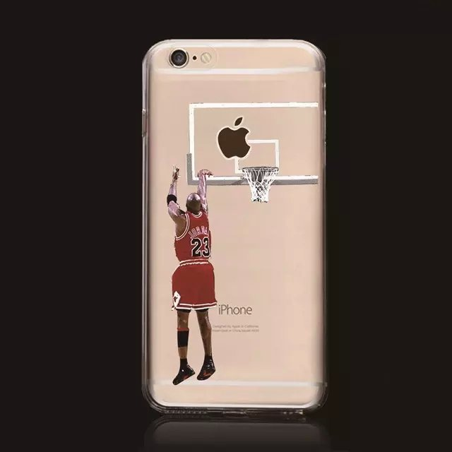 New Curry Westbrook cases Jordan Kobe clear case for iPhone 6 printed Basketball Player case for iphone 6 4.7''Capa para Fundas