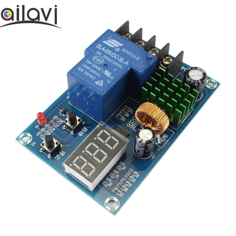 12V24V48V Battery Lithium Battery Charging Controller Module CNC Universal Charging Protection Board Switch Power Supply Module 5v 1a lithium battery charging board charger module li ion led charging board