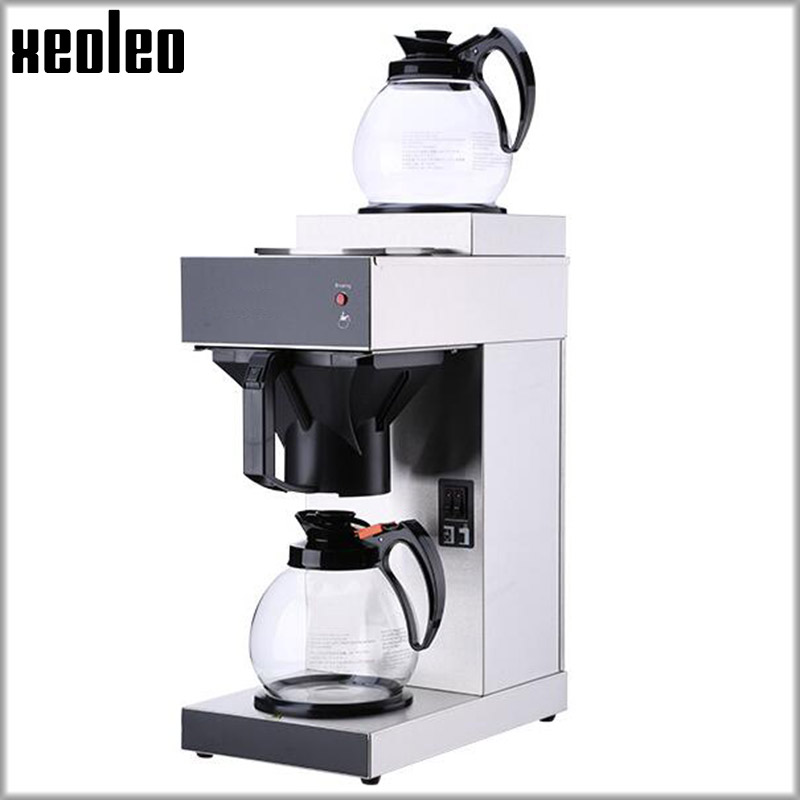 XEOLEO Commercial Teapresso machine Tea brewing machine Tea&Coffee maker Hongkong Bubble tea machine Vacuum Coffee maker 2100W 220v commercial smart cafe machine hong kong style black tea machine stainless steel american coffee machine tea water machine