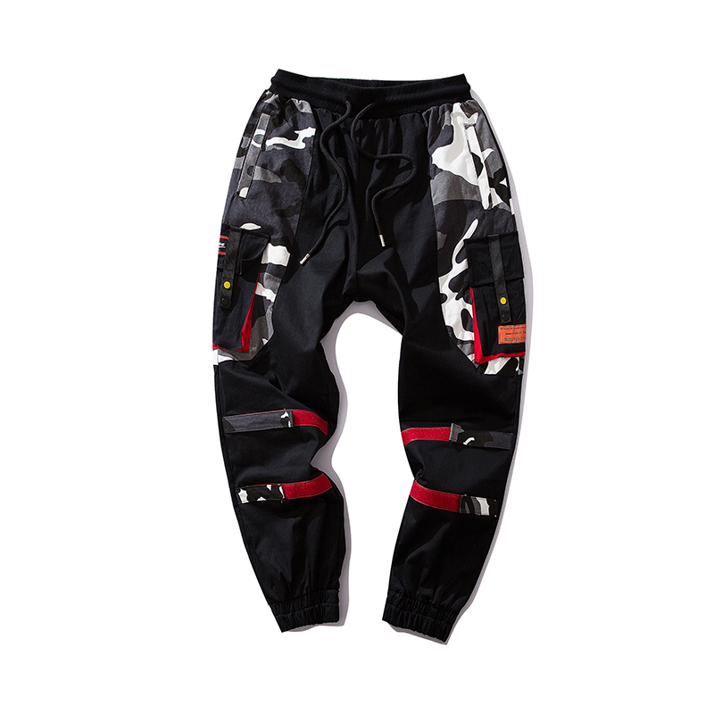 2f7992ab2dce3 Harén Chándal Carga Pantalones Bolsillos Los Cinta Hop Streetwear Moda  Hombres Hombre Tamaño Hip De wtqAtFvcI