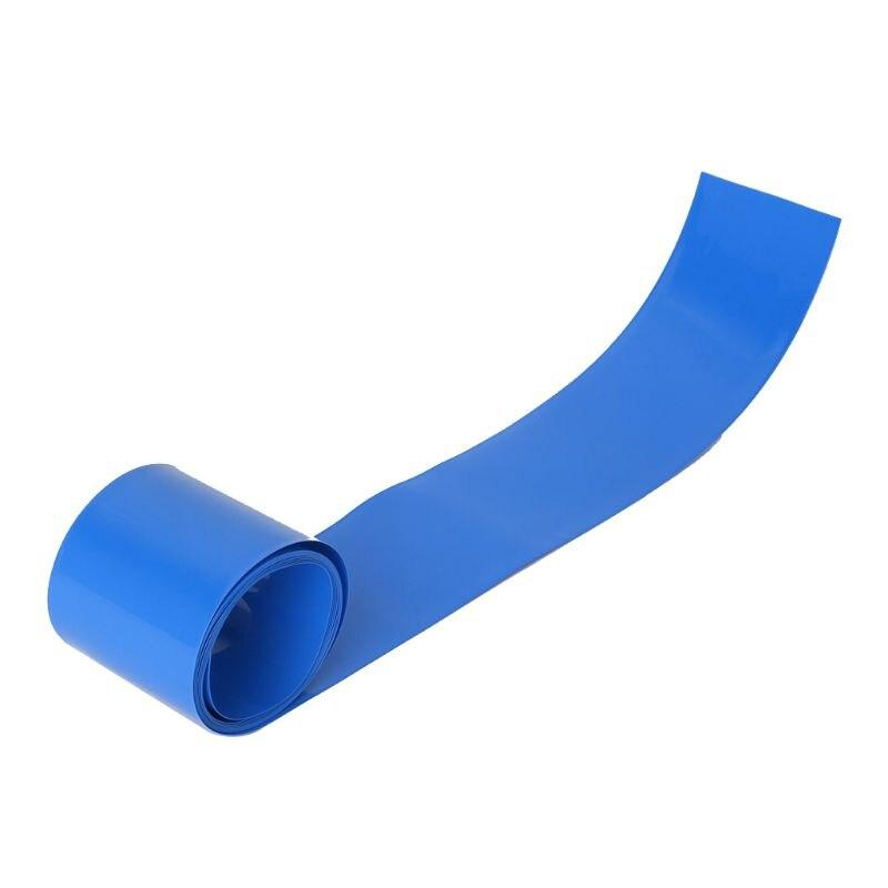 Lithium Battery Heat Shrink Tube Li-ion Wrap Skin14500 18650 26650 PVC Shrinkable Tubing Film Tape Sleeves Electrical Insulation