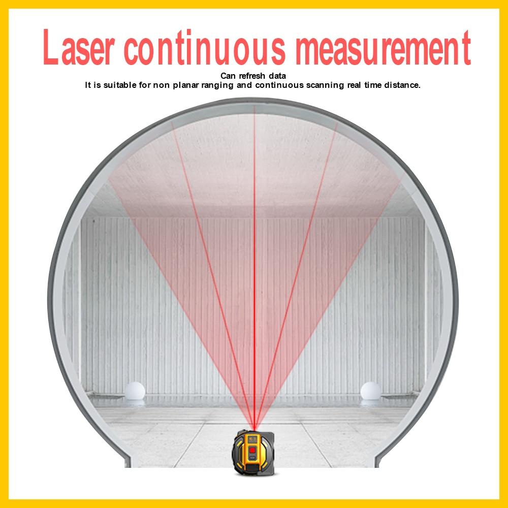 Image 5 - SNDWAY  new  Laser distance meter Laser rangefinder multi function Self Locking  Hand Tool Device Laser range finder-in Laser Rangefinders from Tools
