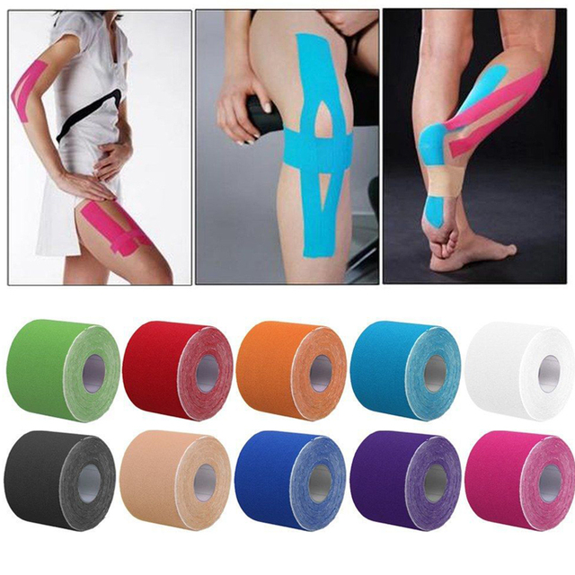 5m*5cm Taping Athletic Kinesio Tape Sport Strapping Football Knee Muscle