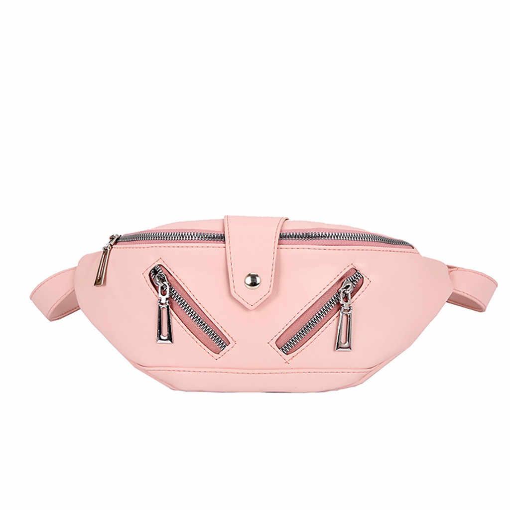 Zíper design moda feminina bolsa de couro das mulheres crossbody messenger bags senhoras bolsa feminina peito bolso bolsa de ombro