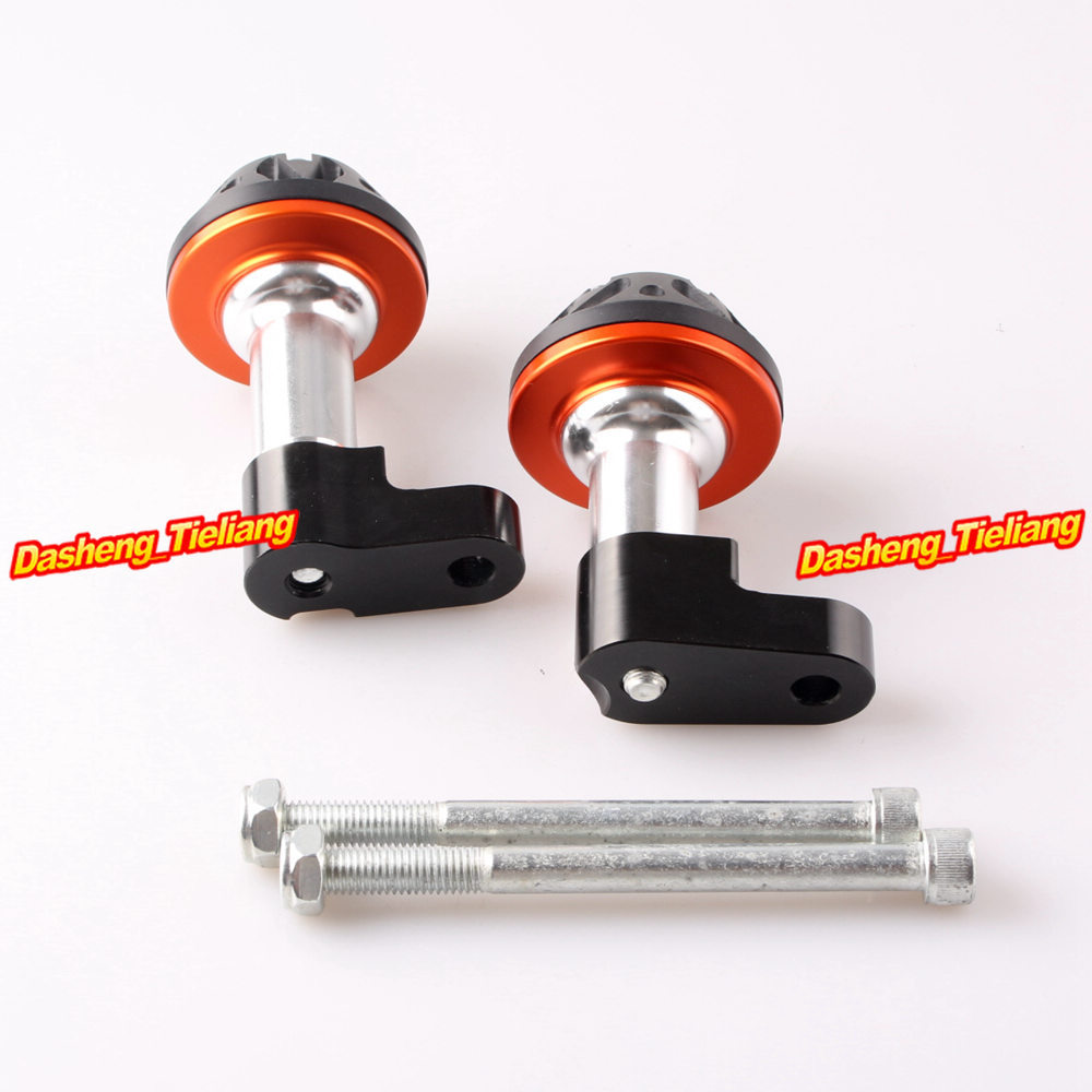 CNC Aluminum Alloy Stator Cover Slider Frame Protector Crash For Honda CB1300 2003 2004 2005 2006 2007 2008 Orange 1pcs openbuilds slider gantry plate standard 65 65 3mm aluminum alloy cnc special slider plate for 3d printer