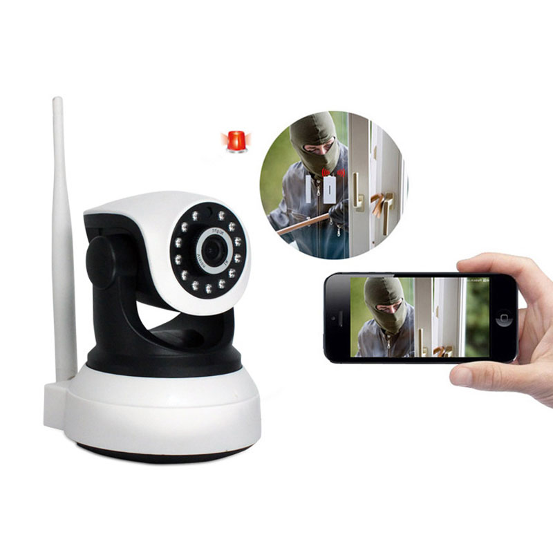 HD Wireless Security IP Camera 720P Wifi Night Vision Audio Recording Surveillance Network Indoor Baby Monitor LCC