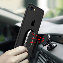 Dashboard Car Holder Magnet Magnetic Cell Phone Mobile Ring Universal For iPhone Bracket Stand Support