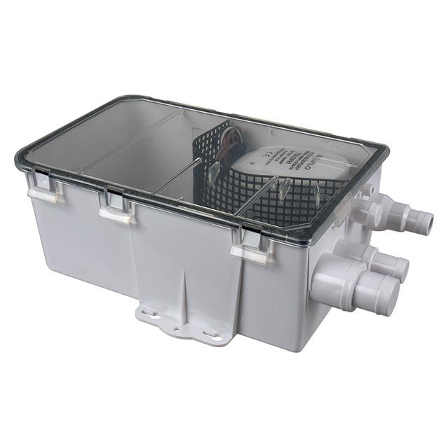 SEAFLO 600 GPH 12 Volt Automatic Shower Sump Draining kit Marine ...