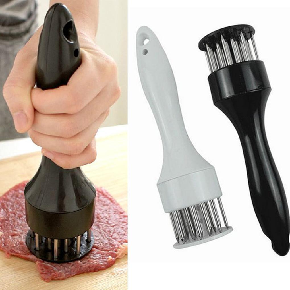 Steak Pork Chop Fast Loose Meat Tenderizer Needle Stainless Steel Tender Meat Hammer 20X5cm Mincer Kitchen Helper