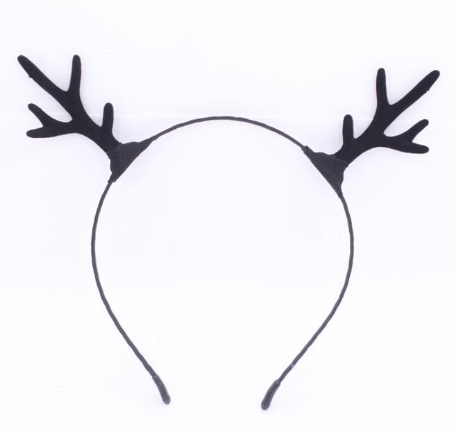 Christmas Headbands Reindeer Antlers Hair Hoop Christmas Reindeer Ears Antlers Hair Band Fancy Dress Novelty headband for Ladies Girls Christmas Gifts