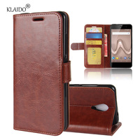 KLAIDO Wallet Leather Case For Wiko Tommy 2 Case Cover Silicon Case For Wiko Tommy 2