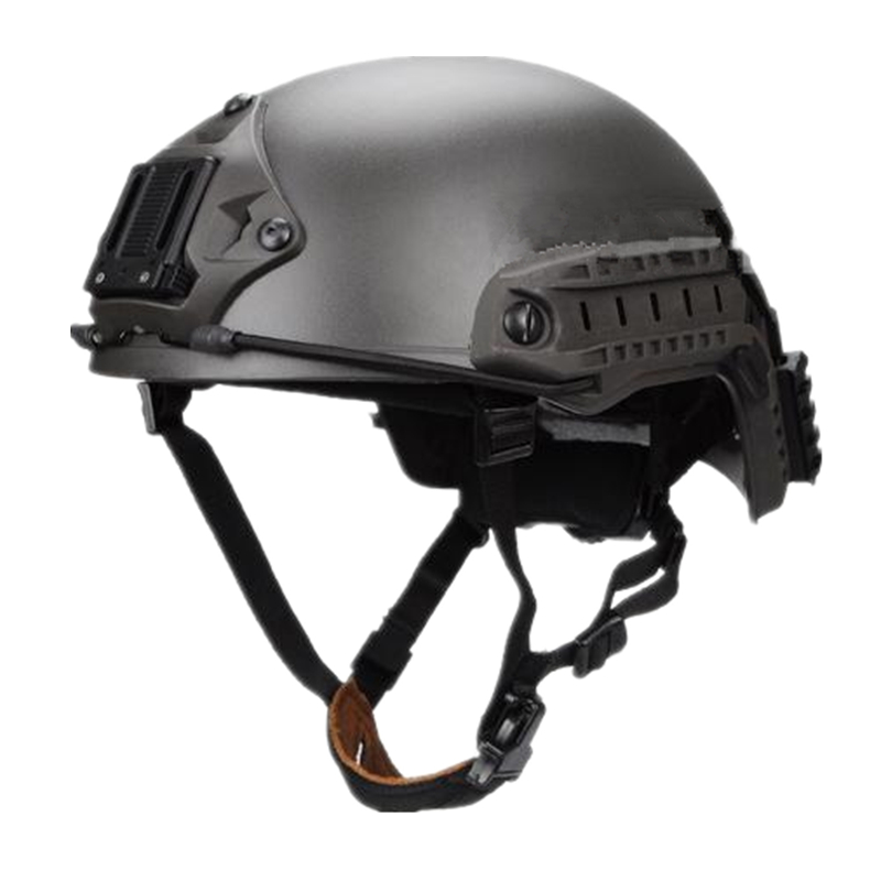 Ballistic Helmet Tactical Fast Helmet For Airsoft Paintball ABS Material Cycling Helmet Mass Grey Size M L
