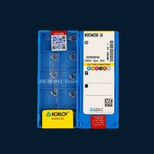 10pcs WCKT040208-DA H01, boring bar tool mini lathe cnc aluminum insert machine  factory U drill indexable insert стоимость