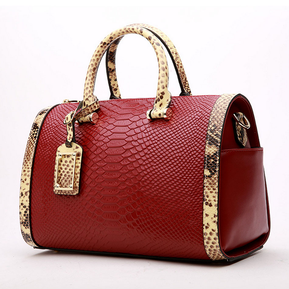 SUNNY BEACH Genuine Leather Alligator famous brands women messenger bags women handbags designer women bag shoulder bag tote bag