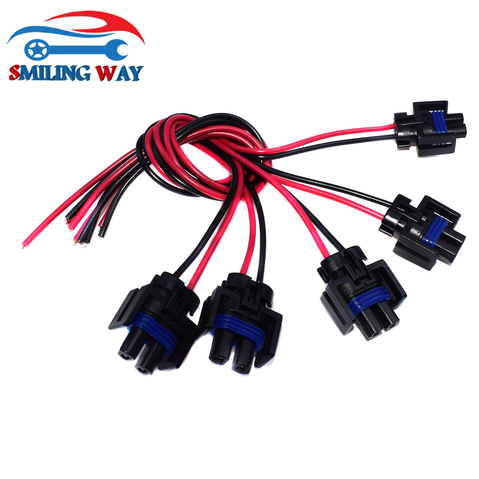 Fuel Injector Connector Harness Pigtail Replaces 1P1575 For Chevrolet GMC Buick