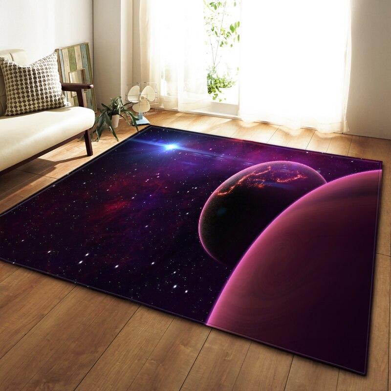 Universe Planets Rug Living Room Carpet