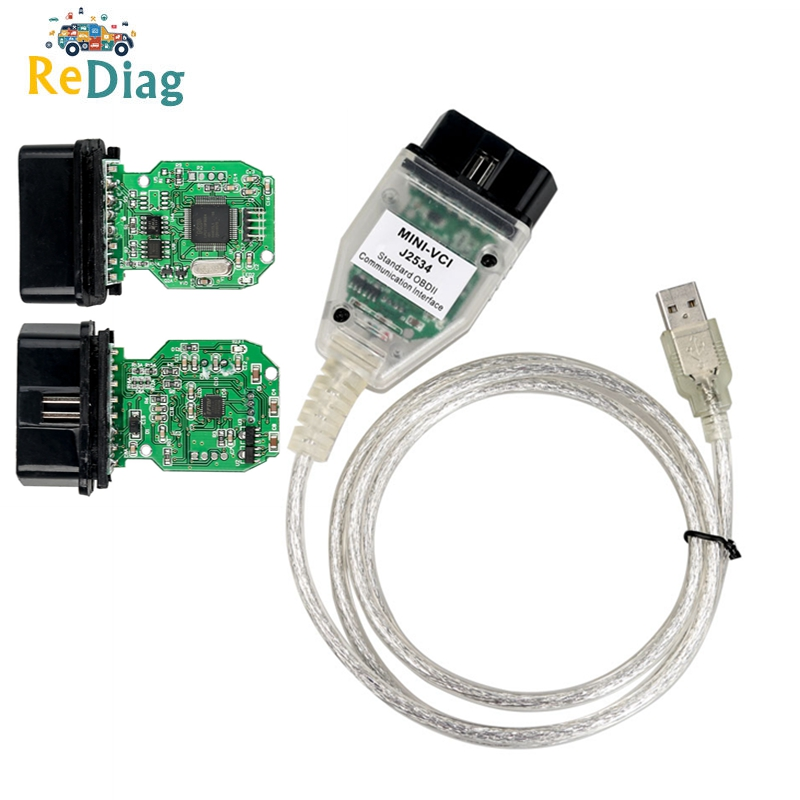2019 Newest V14.20.019 TIS Techstream MINI VCI Supports For Toyota Multi-Language FTDI OBD2 USB Diganotsic Interface MINI-VCI