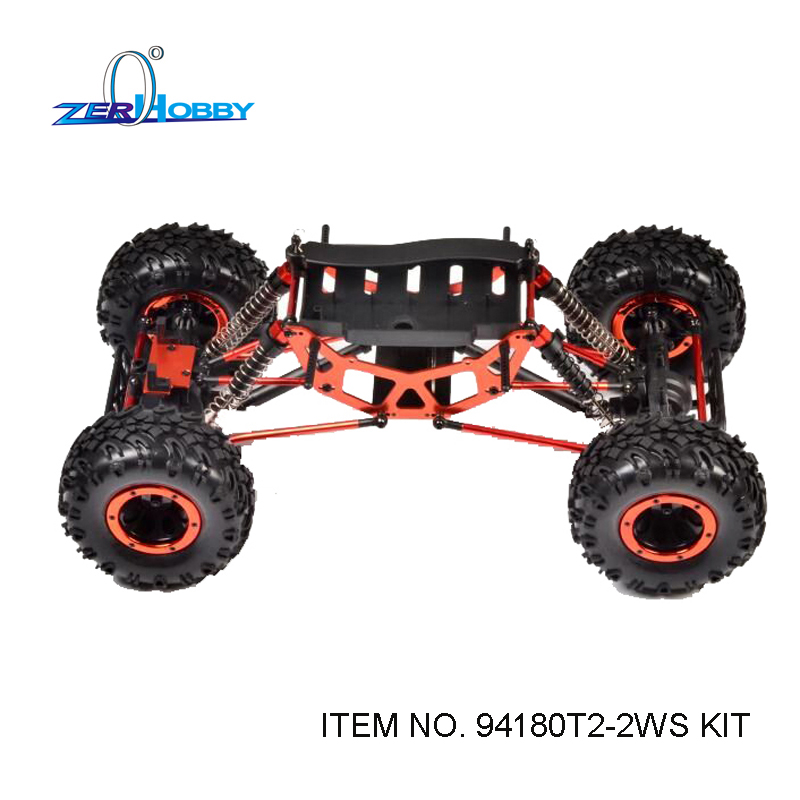 HSP RACING RC CAR ROCK CRAWLER 1/10 ELECTRIC 4WD OFF ROAD CRAWLER 94180 94180T2 CAR KIT ONLY