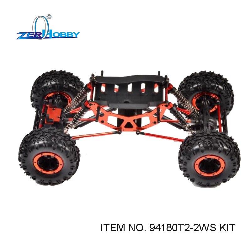 HSP RACING RC CAR ROCK CRAWLER 1/10 ELECTRIC 4WD OFF ROAD CRAWLER 94180 94180T2 CAR KIT ONLY