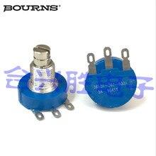 Оригинальный мексиканский 3852A-202-502A одиночный 5k герметичный керамический потенциометр 280 градусов