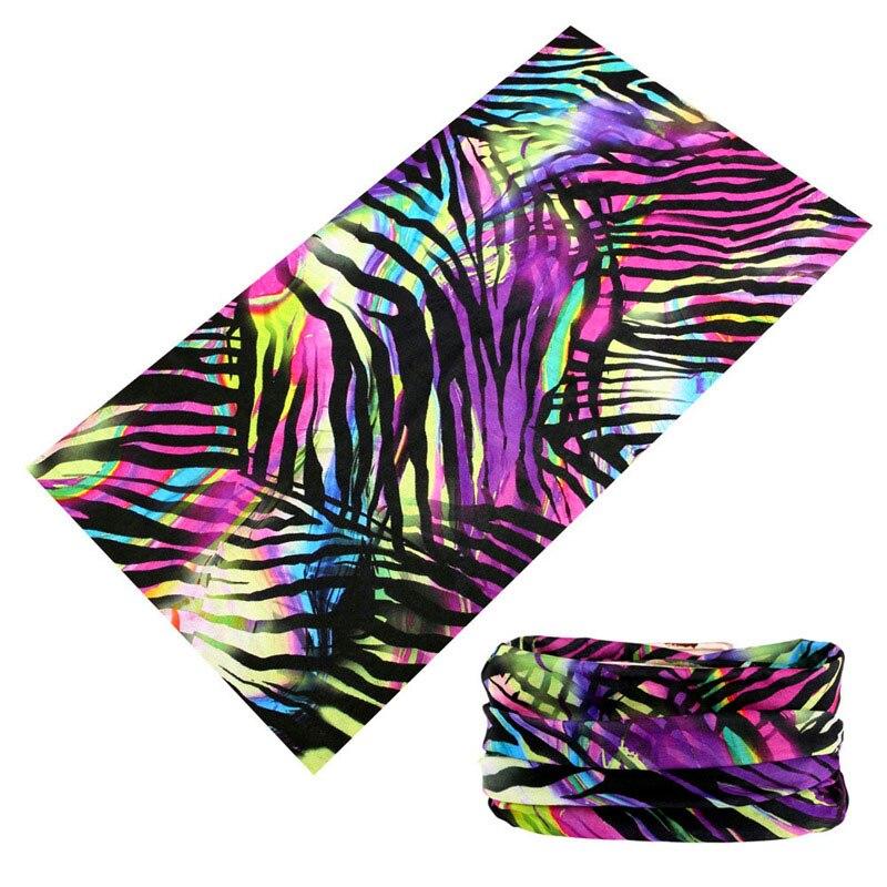 Buffe Fashion Rainbow Striped 3D Magic Tubular Seamless Bandanas For Women Men Head Scarf Cycling Motorcycle Face Mask Kerchief