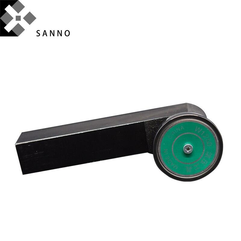 Outils de brunissage de roulement ronds externes de haute précision W1250/W1270 coupeur extérieur de surface de cylindre de miroir