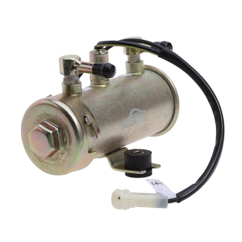 High Quality Newest 12V Car Electric Fuel Pump Facet Red Top Style Fuel Petrol Diesel Pump Kit Engine Fuel Pump promotion lowest price high performance 12v electric fuel pump for jaguar color for head red black green