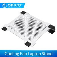 ORICO Cooling Fan Laptop Stand Cooling Pad Notebook Radiator Bracket Plate Aluminum Cooling for laptop Macbook Cooling Pad