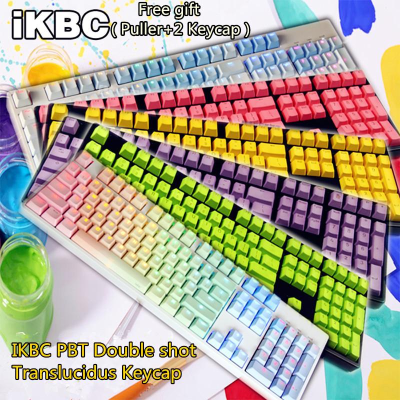Prix pour Cool Jazz 104 PBT coup Double Translucidus Rétro-Éclairé Keycaps Pour Cherry/Keycool/NOPPOO PLU//HPE/Ducky/Filco Clavier Mécanique