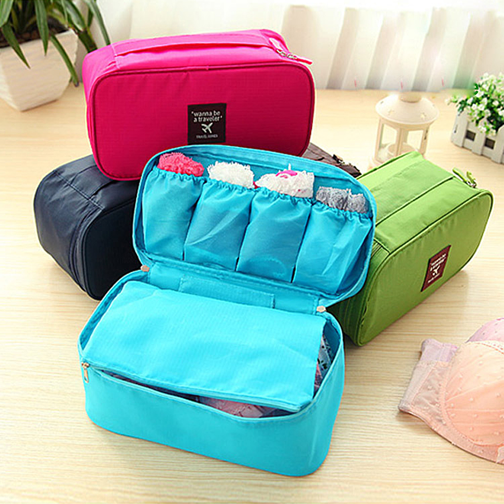 Us 1 0 33 Off Whole 1pc Convenient Travel Storage Bag Oxford Cloth Portable Organizer Bags Shoe Sorting Pouch Multifunction Colorful In