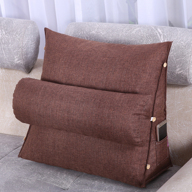 chair pillow for back macys recliner chairs dropwow adjustable lumbar cushion support home frost off white coffee