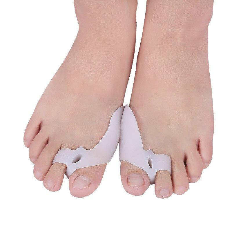 Haut Pflege Werkzeuge 1 Paar 2 Farben Toe Separator Hallux Valgus Zehen Überlappenden Trennung Zehen Rehabilitation Korrektur Orthesen Yoga Bedarfs