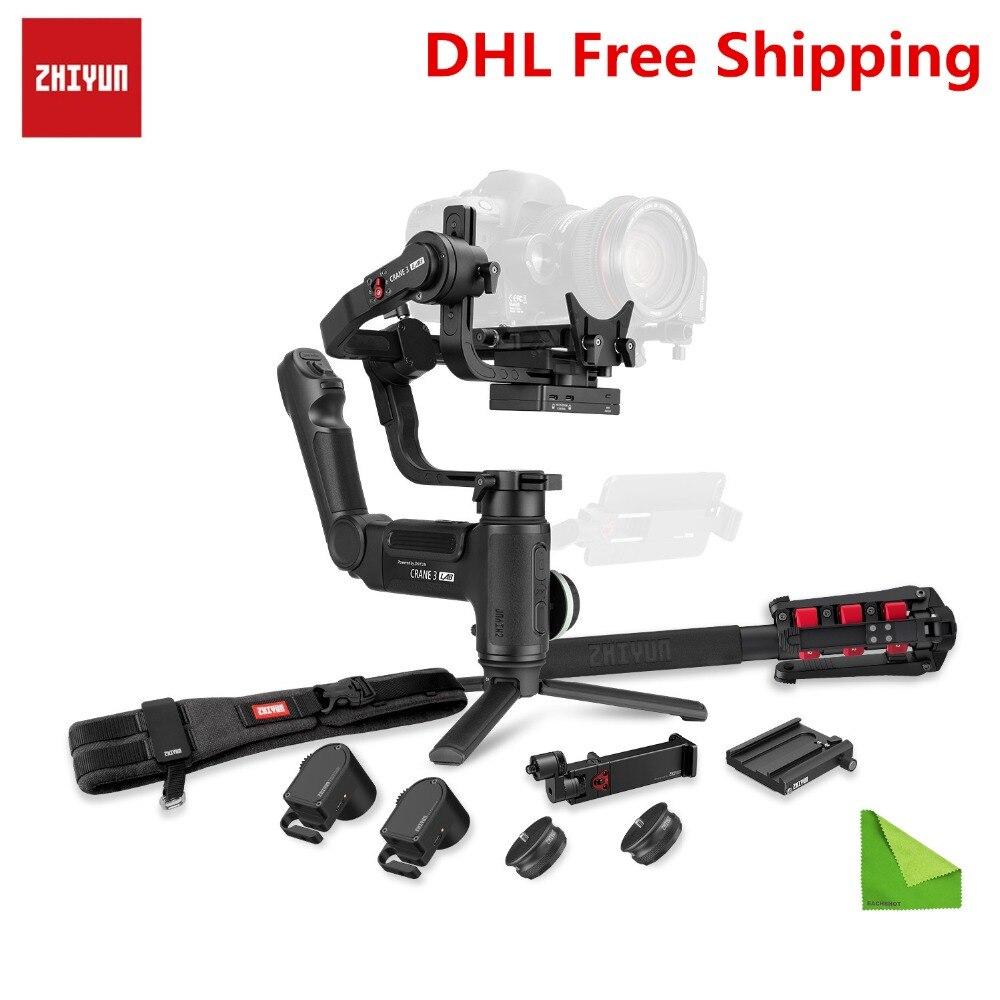 Zhiyun Guindaste 3 LABORATÓRIO 3-eixo Cardan Handheld para Sony A7M3 A7R3 A6500 A7R2 Canon Panasonic GH4 GH5S Nikon câmera DSLR Estabilizador