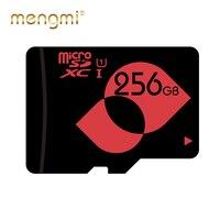 MENGMI 256GB Memory Card Class 10 UHS I (U1) / UHS I (U3) microSDXC Card with Free Adapter for Drone / Dash Camera