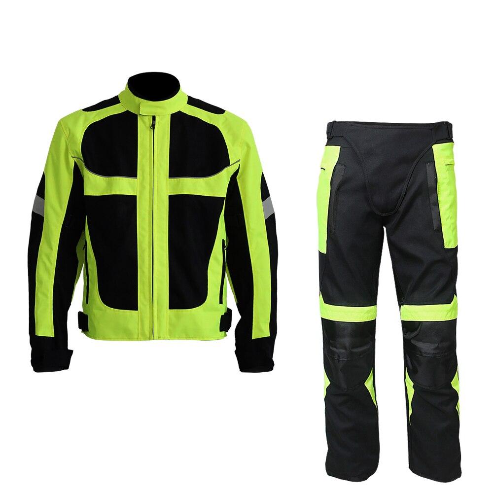 Riding Tribe motorcycle Jacket Pants Sets Winter/Summer Waterproof Oxford Fabric Jacket Clothing Motorcycle Jacket&Pants Suits