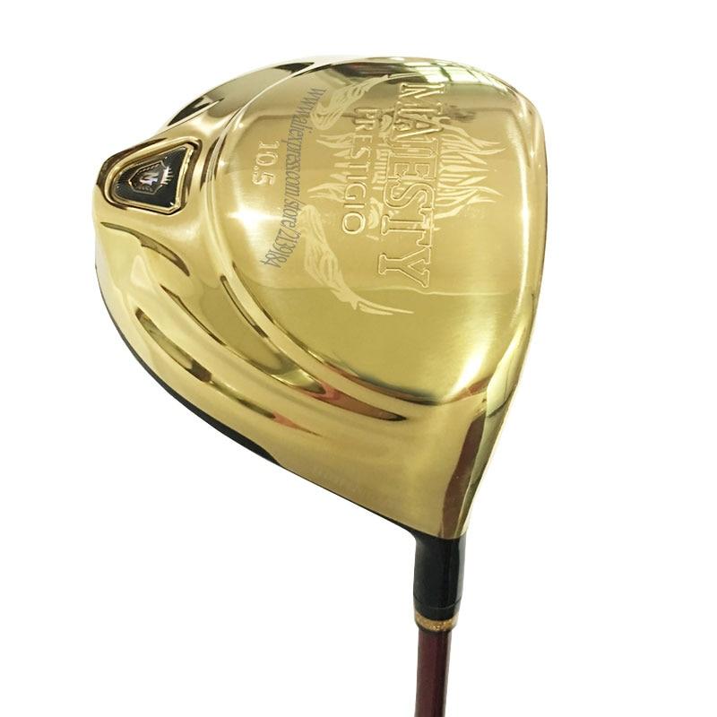 9 Cooyute Novo driver de clubes de Golfe Maruman Majestade Prestigio Golf motorista 9 5 ou 10 5 loft Clubes de Golfe Grafite eixo Frete grátis
