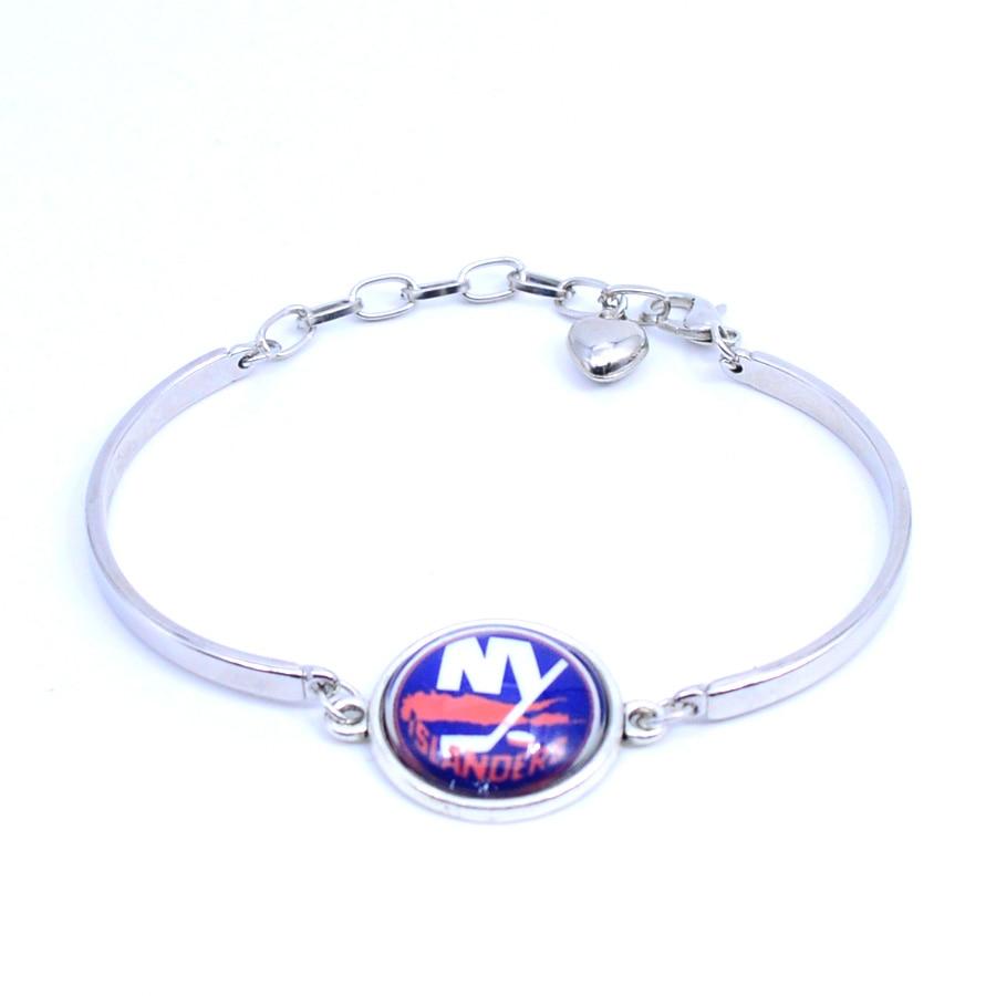 bracelet bangle new york islanders nhl charms hockey