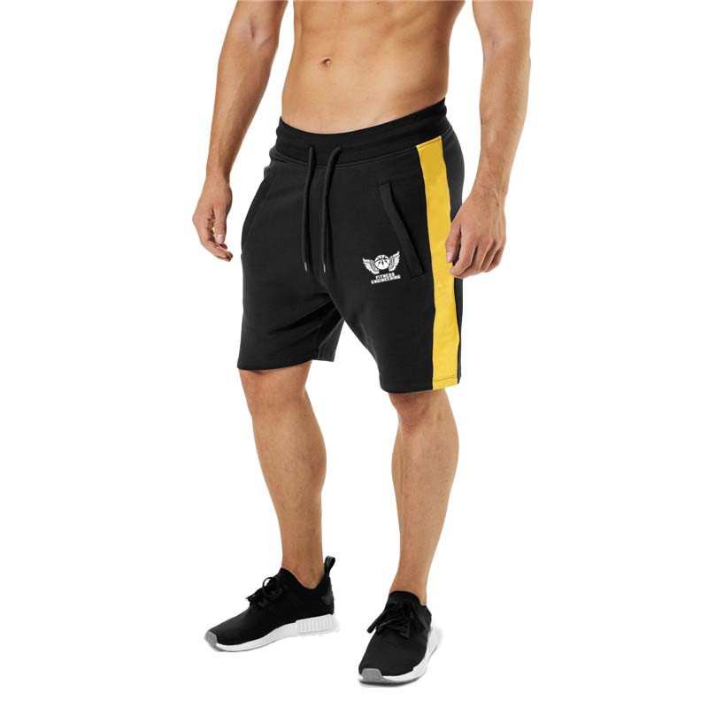 2019 Solid Men's Shorts Summer Mens Beach Shorts Cotton Casual Male Shorts Homme Brand Clothing