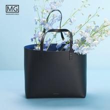 все цены на Mansurstudios Women genuine leather Tote Bag ,mansur lady real leather casual Tote Bags, garviel leather handbag,free shipping онлайн