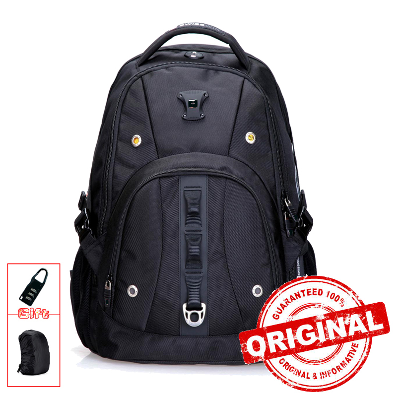 Brand Mens Backpack Bag Fashion Casual Male Daypack Quality 15 Laptop Music Backpack for Students mochila escolar SW9206 lowepro protactic 450 aw backpack rain professional slr for two cameras bag shoulder camera bag dslr 15 inch laptop